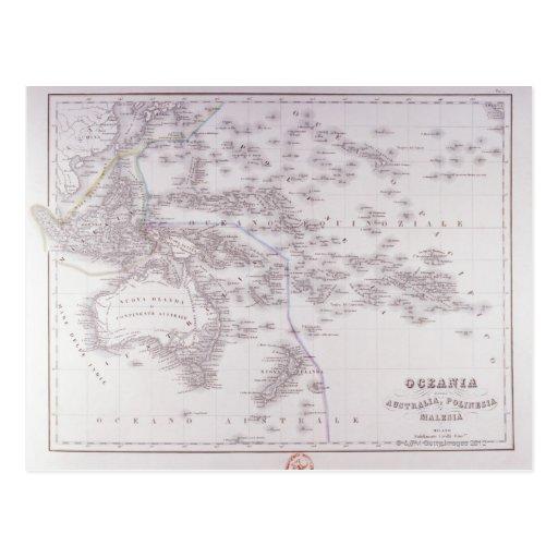 Oceanía (Australia, Polinesia, y Malasia) Postal