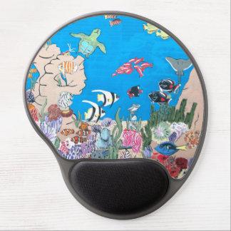 Oceania Gel Mousepad