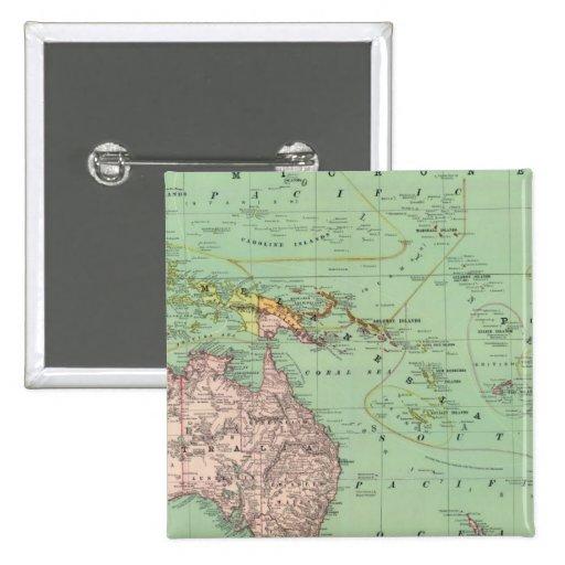 Oceanía, Malasia Pin
