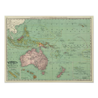 Oceania, Malaysia Posters