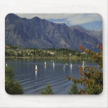 Oceanía, Nueva Zelanda, isla del sur, Queenstwon. Alfombrillas De Ratones