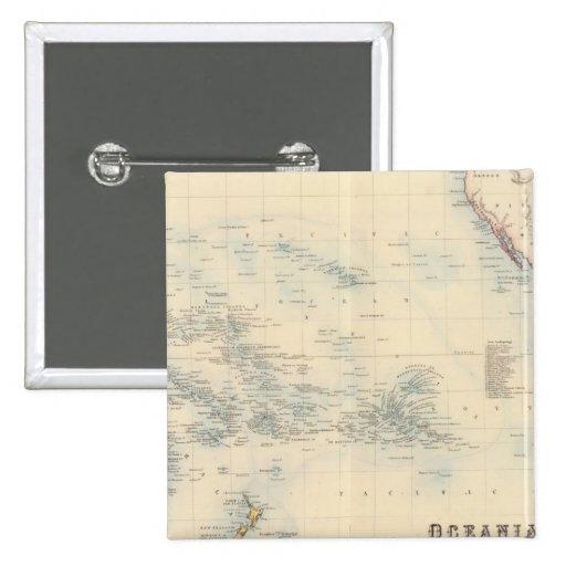 Oceanía Pin