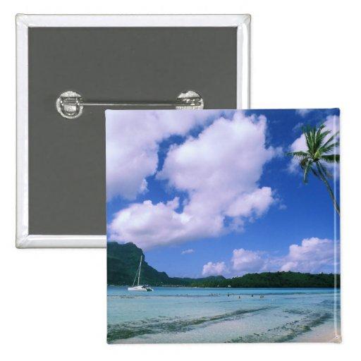 Oceanía, Polinesia francesa, Tahití. Vista a Pin