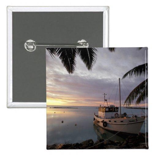 Oceanía, Polinesia, islas de cocinero, Aitutaki, Pin