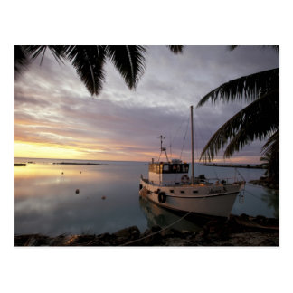 Oceania, Polynesia, Cook Islands, Aitutaki, Postcard