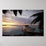Oceania, Polynesia, Cook Islands, Aitutaki, Print