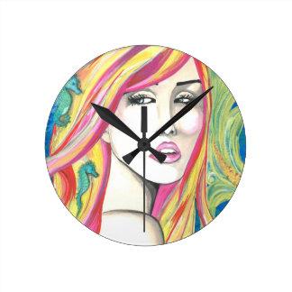 Oceania Round Clock