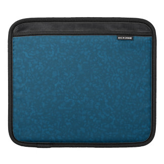 Oceanic Blue-Mottled Design iPad Sleeve