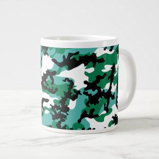 Oceanic Camo Glass Jumbo Mug