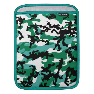Oceanic Camo iPad Sleeve