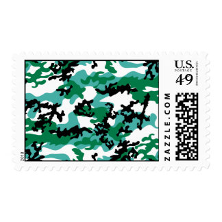 Oceanic Camo Postage Stamps