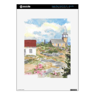 Oceanic Hotel on Star Island View iPad 3 Decals
