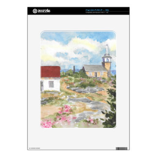 Oceanic Hotel on Star Island View iPad Decals