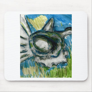 Oceanic Mind Mouse Pad