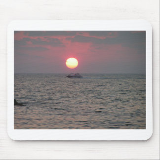 oceanic sunset mouse pad
