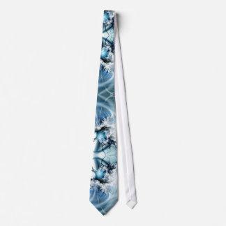 Oceanic Wonder Fractal Tie