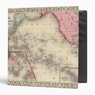 "Oceanica, islas de bocadillo carpeta 1 1/2"""