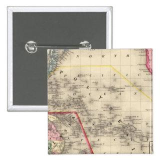 Oceanica, islas de bocadillo pin cuadrado