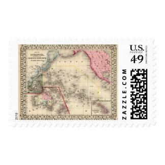 Oceanica, islas de bocadillo sello