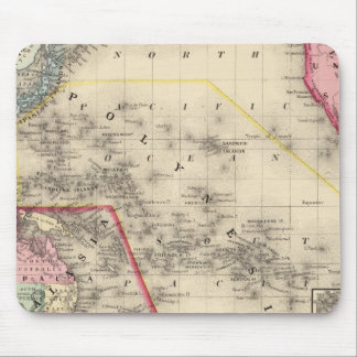 Oceanica, islas de bocadillo tapete de ratones