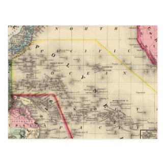 Oceanica, islas de bocadillo tarjeta postal