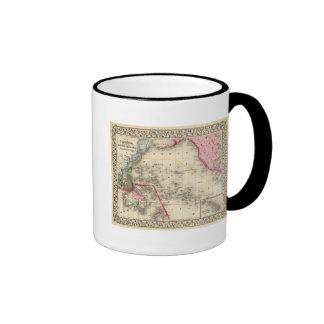 Oceanica, islas de bocadillo taza de café