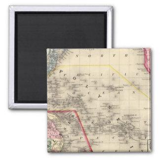 Oceanica, Sandwich Islands Fridge Magnet