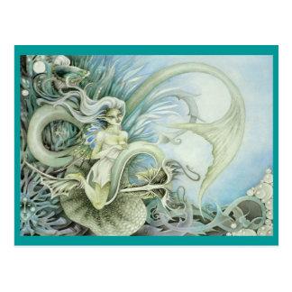 Oceanid Faeries Postcard