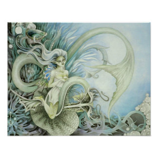 Oceanid Faeries Print
