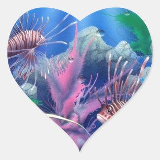 oceanlife 1.jpg pegatina en forma de corazón