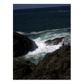 Océano #3 tarjeta postal