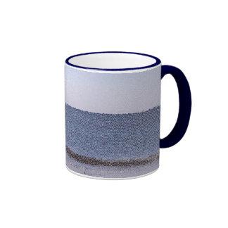 Océano abstracto tazas de café