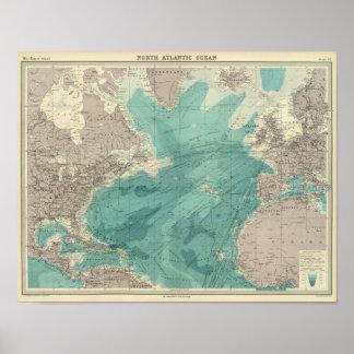 Océano Atlántico del norte Impresiones