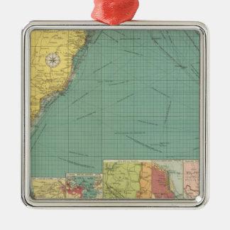 Océano Atlántico del sur Adorno