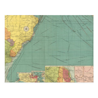 Océano Atlántico del sur Postal