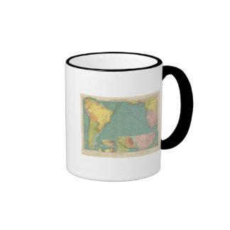 Océano Atlántico del sur Tazas