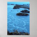Océano azul impresiones