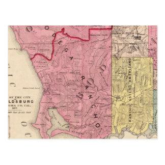 Océano, Bodega, y los municipios de Analy Tarjetas Postales