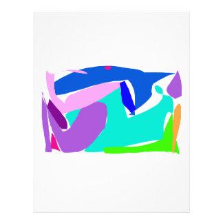 Océano de la lluvia de la orca del delfín del tibu flyer a todo color