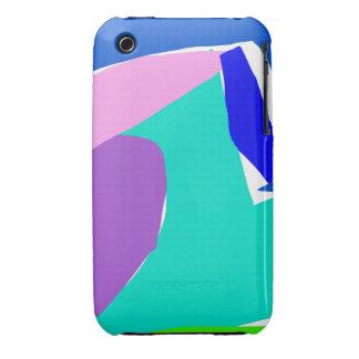 Océano de la lluvia de la orca del delfín del tibu iPhone 3 cobertura