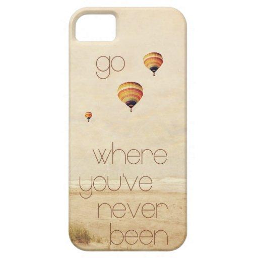 océano de la playa de la galaxia de Samsung del iPhone 5 Fundas