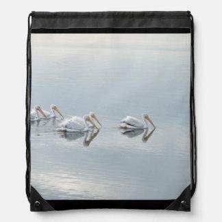 Océano de la playa de los animales de la fauna de mochila