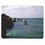 Océano de Portugal, trullo y mar del paraíso del a Cuaderno Grapado