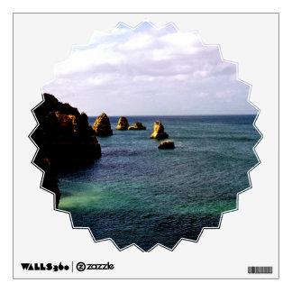Océano de Portugal - trullo y paraíso del azul Vinilo