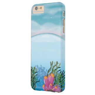 Océano del arrecife de coral funda para iPhone 6 plus barely there