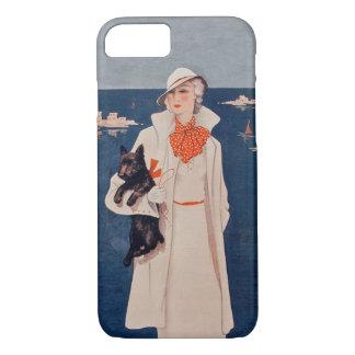 Océano del perro de señora White Suit Scotty Funda iPhone 7