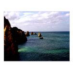 Océano divino de Portugal - trullo y azul Postal