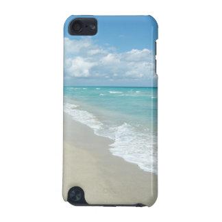 Océano extremo de la opinión de la playa de la rel funda para iPod touch 5G