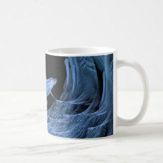Océano grande de la onda taza