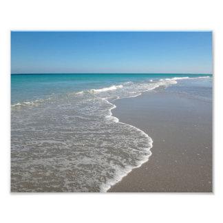 Océano II de la impresión de la playa Fotografía